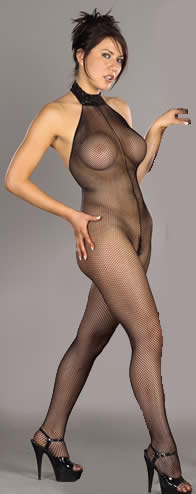 Fishnet Halter BodyTight