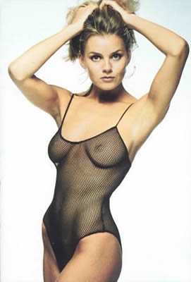 See-Through Fishnet Body Suit