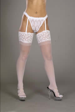 Luxury Lace Top Stocking